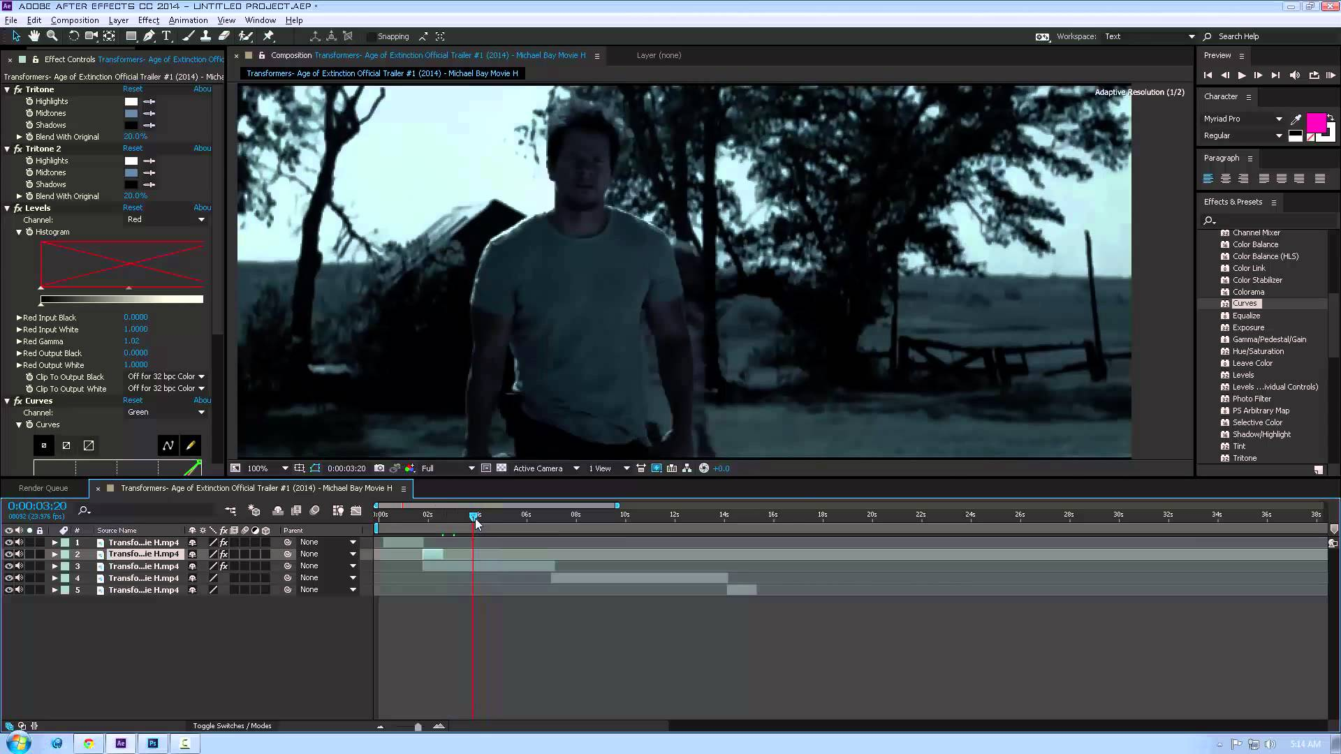 Cinema Color Grading Tutorial – CGI Effects