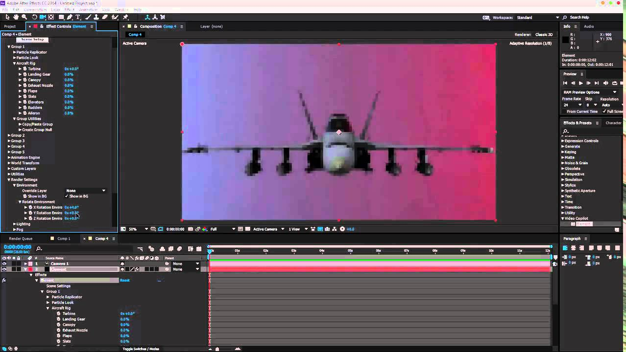 How To Create CGI Jets – CGI Animation