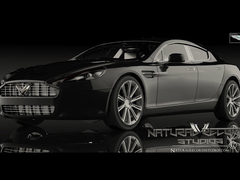 How To Make A Realistic Car Using KeyShot – CGI Render