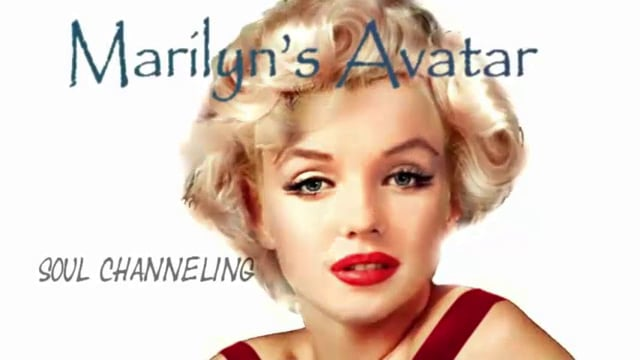 Soul Channeling with Marilyn Monroe Ad